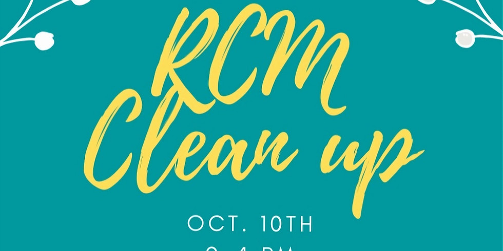 RCM Clean up!
