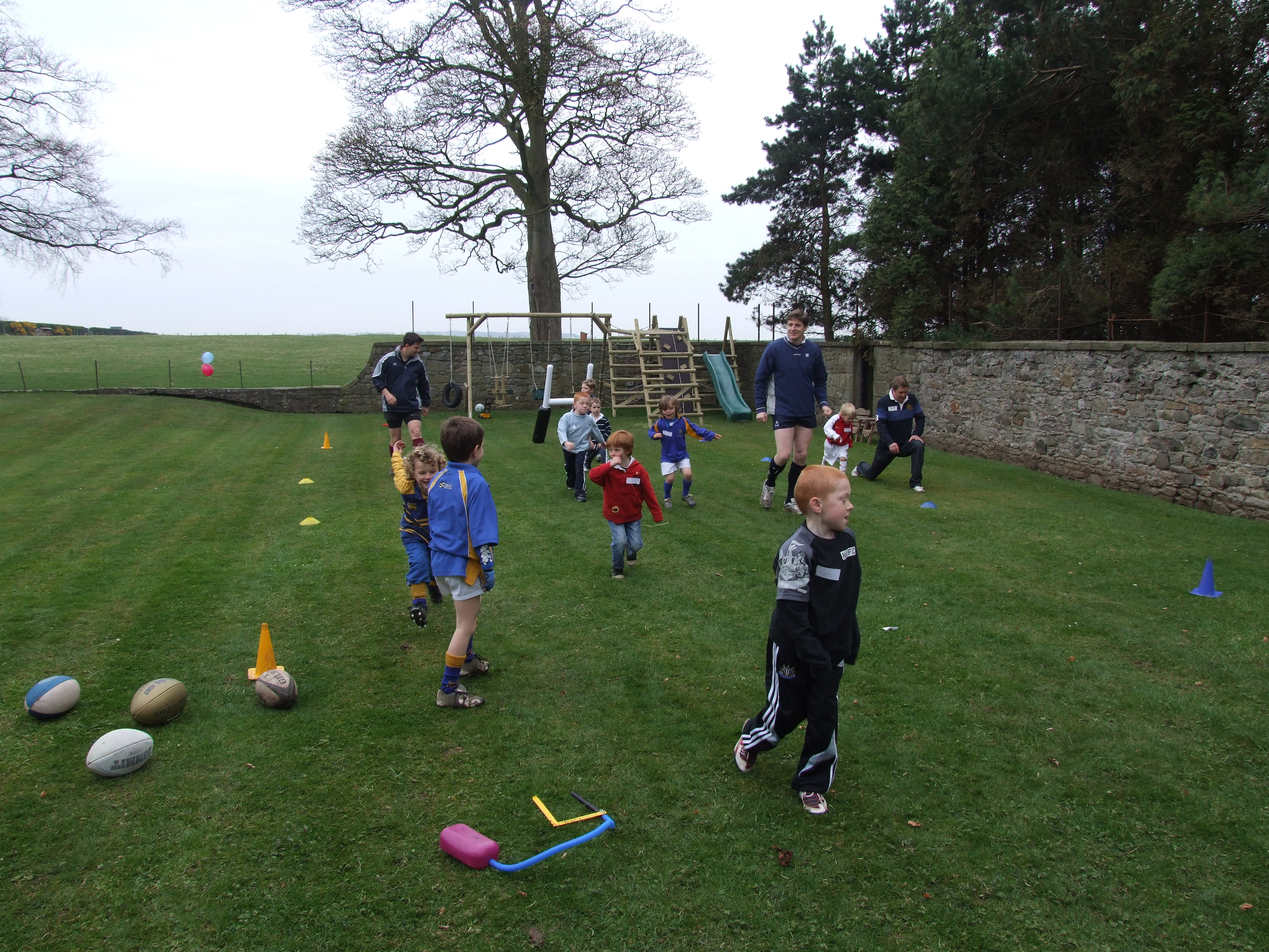 Rugby Birthday Party