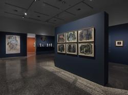 Série de 6 aquarelle, autour de Marguerite Burnat-Provins, Musée Jenisch, Vevey 2020