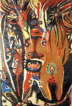 Terre de feu, 160 x 120cm, 1995