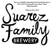 Suarez Family Brewery at Beer Street!