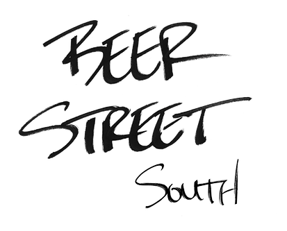 Beer Street South (Handwritten)