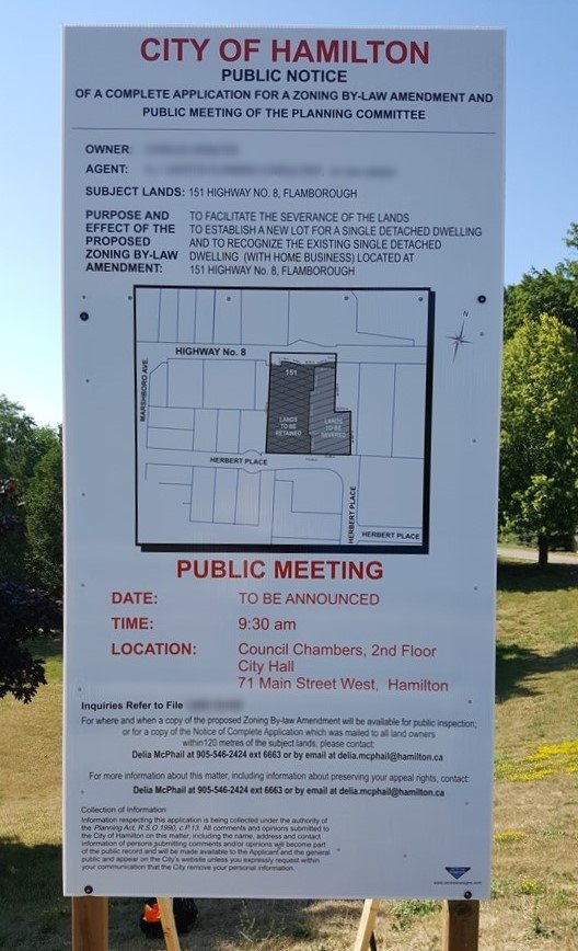 Municipal Zoning Public Notice