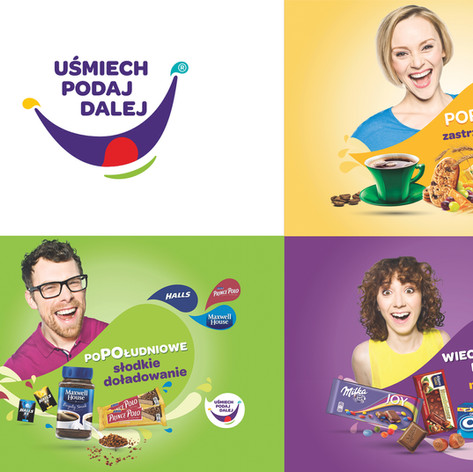 Key visual for polish cross-promotion campaign