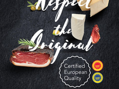 NOT USED Key visual promoting certified European quality food