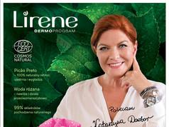 Key visual for well known Green Retinol cosmetics line - with celebrity Katarzyna Dowbor