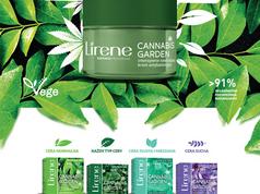 Lirene new cosmetics line with CBD