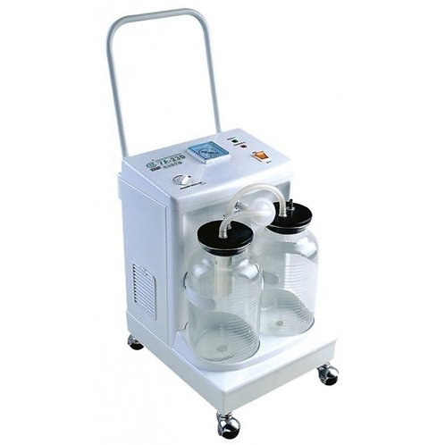 Silverline Double Bottle Piston Type Suction Machine for Rent