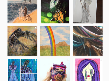 Express Your Heart: the IG Community Art Show