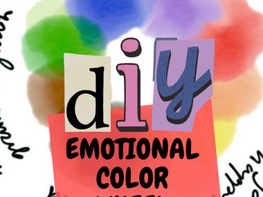 DIY Emotional Color Wheel