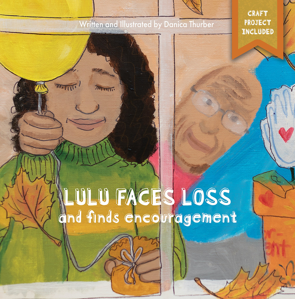 Danica Thurber's first children's book on grief and loss