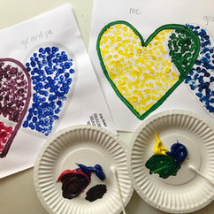 Kid's art activity: grief & loss