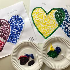 Kid's art activity: grief & loss