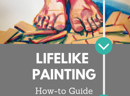 How to: Paint a Realistic Picture in Acrylic