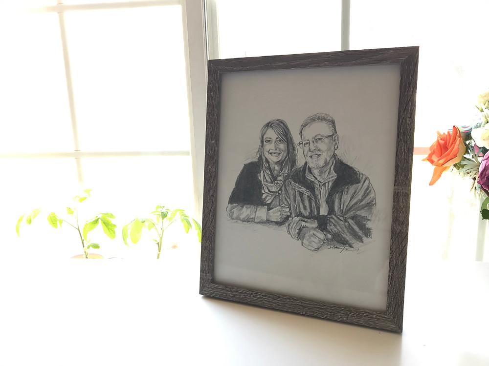 e-course, drawing tutorial, pencil portrait, memorial pencil portrait,