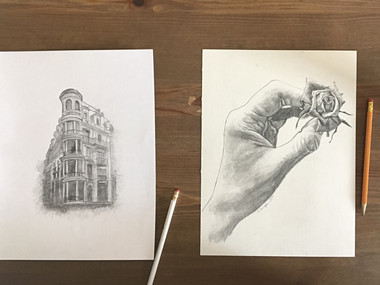 How to: draw from a photo (for beginners!)