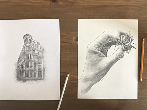DRAW & SHADE your way to an awesome drawing