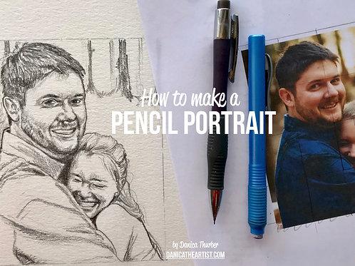 Ebook: How to Make a Pencil Portrait
