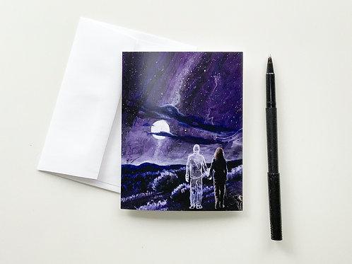 Art Card: The Three of Us
