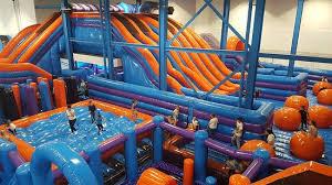 14,000 sqft Inflatables Arena opens in Beverley!