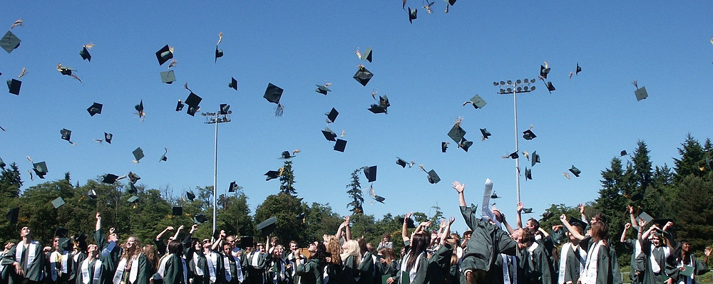 college graduation - ein Aufnahmeritual