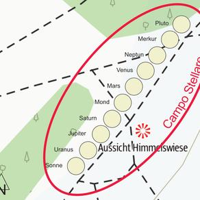 Campo Stellare auf der Himmelswiese in Mauer/Wien - Der Himmel küsst die Erde