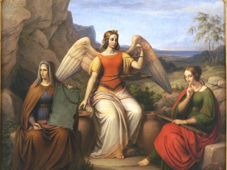 Die Schicksalsfrauen - Moiren, Parzen, Nornen und Matronen