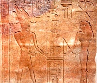"""Pedj-Shes, das Ritual des """"Seilspannens"""" bei den Ägyptern und die Druidenschnur"""