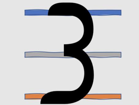 Symbolik der Zahlen - Die Drei