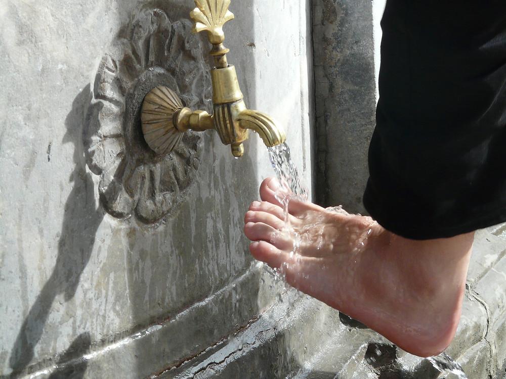 Die Fußwaschung - Ein Reinigungsritual