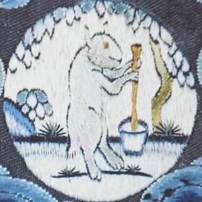 Die Frühlingsgleiche, Feuer- und Fruchtbarkeitsfeste, der Hase im Mond