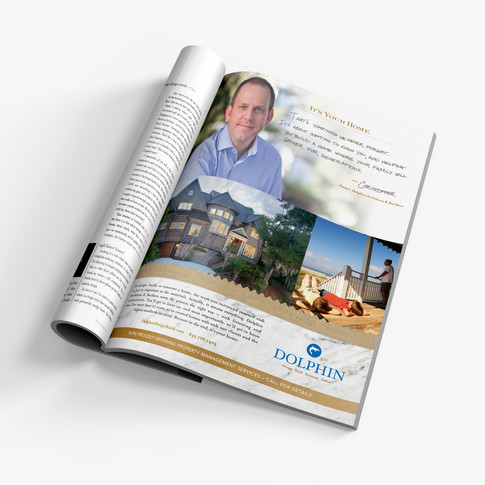 Dolphin Builders Magazine Ad
