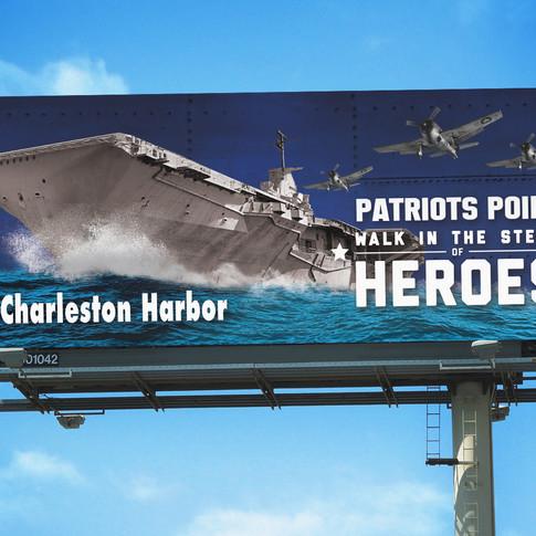 Patriots Point Billboard