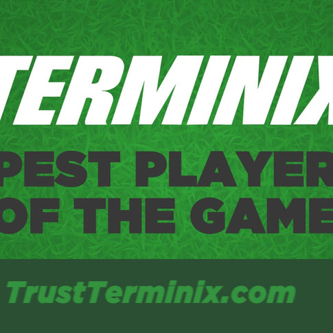 Terminix Player of the Game