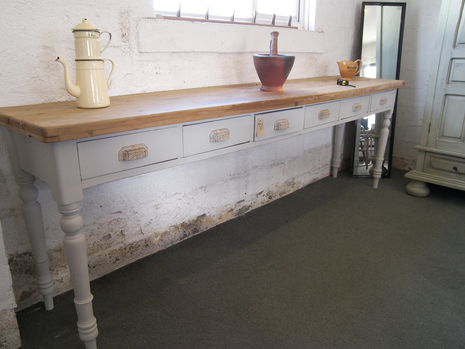 Extra long console table for sale wadebridge www for Extra long console table sale