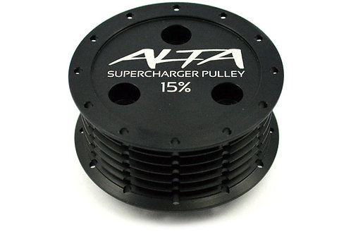 Alta v2.0 Reduced Pulley 15% or 17% - R53 Supercharged