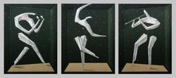 3M01 triptych, 2016