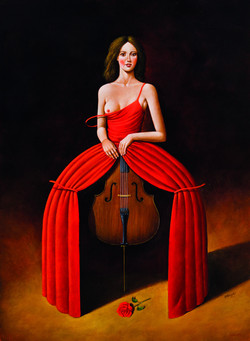Viola in Red,  2016