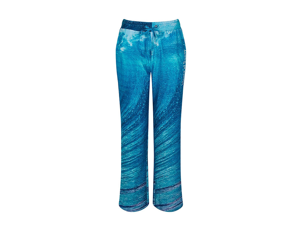 WAVE TOWELLING PANTS