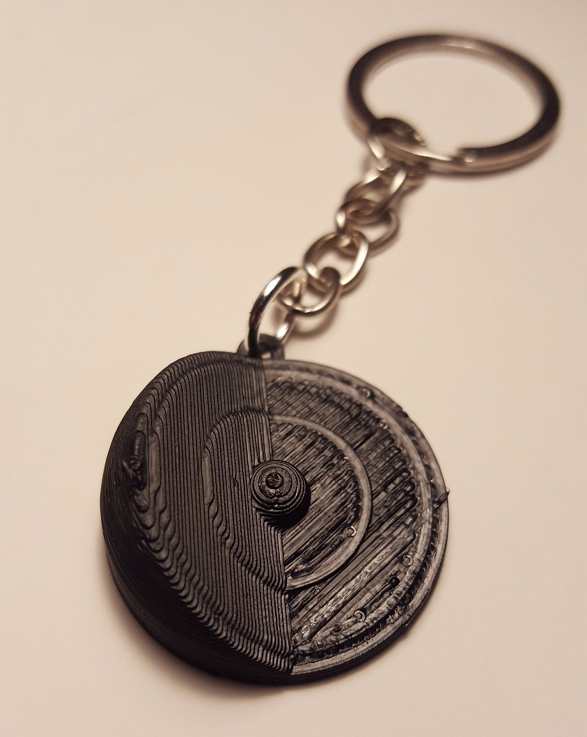 Core of the Earth Keychain