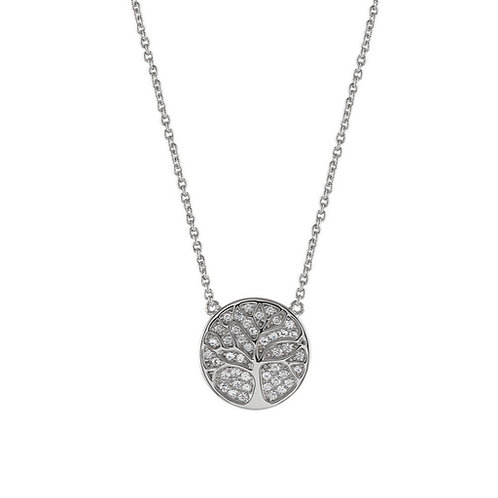 Unike Jewellery Meaningful Tree of Life Joia Colar Mulher UK.CL.1205.0032