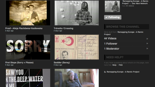 Remapping Europe media archive