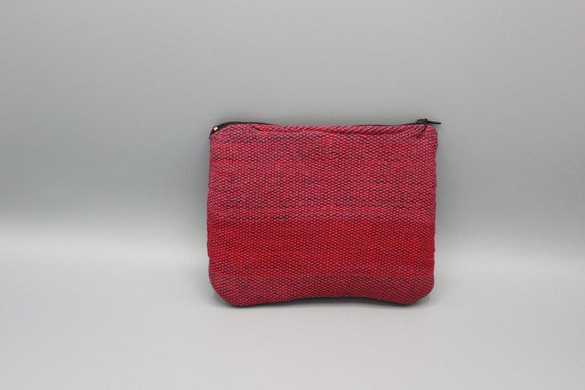 Cotton Red Purse
