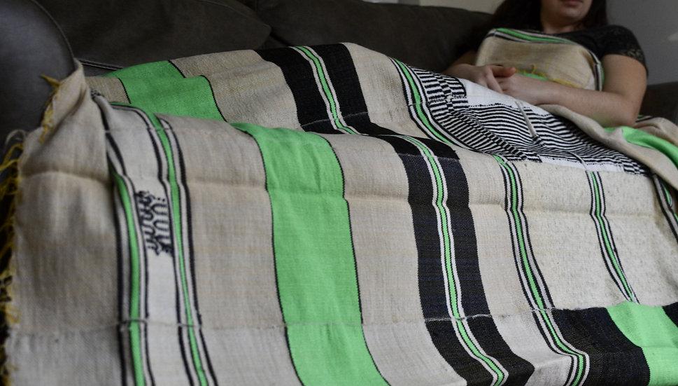 Neon Green Blanket