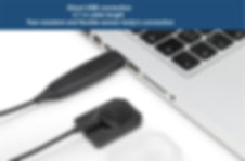 Digital Intraoral Sensor Trident I-View - Gold