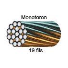 CÂBLE MONOTORON de 19 FILS (1+6+12 FILS) LEVAC