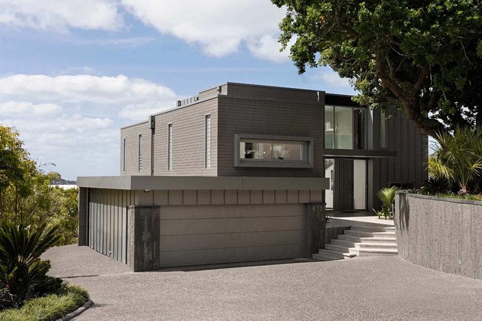 Studio cst architectural and interior design zinc house for Modern zinc houses