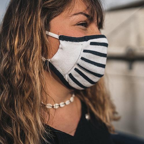 Masque barrière Marinière
