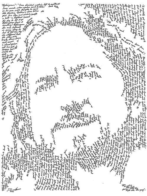 Eddie Vedder, In Their Own Words Print