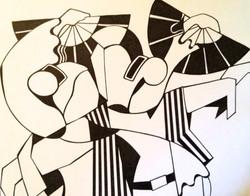 Flamenco Couple - Sold